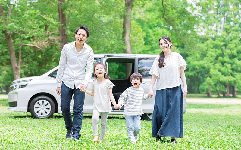 社員と家族